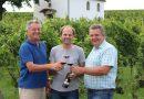 Franz Heincz, Weinbauvereinsobmann Gerald Wieder und Bürgermeister Hannes Igler
